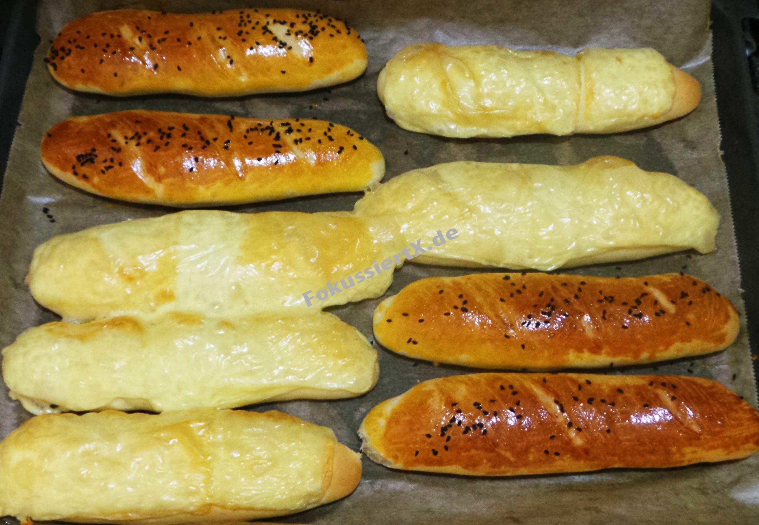 Käsestange & Baguette Brot